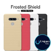 Hard Case Nillkin Super Frosted Shield LG V40 ThinQ Original Casing