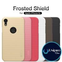 Hard Case Nillkin Super Frosted Shield iPhone XR Logo Original Casing