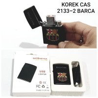 KOREK API USB BARCA 2133-2 ELEKTRIK CAS CHARGER LIGHTER MANCIS