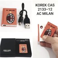 KOREK API USB AC MILAN 2133-12 CAS ELEKTRIK CHARGER LIGHTER