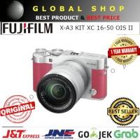 FUJIFILM X-A3 KIT XC 16-50 OIS II PINK