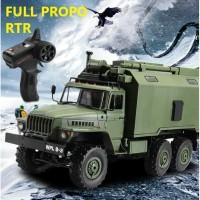 WPL B36 B-36 Military Truck Ural 1/16 2.4G 6WD RC Car Off-Road RTR