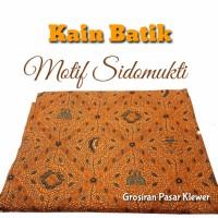 MOTIF SIDOMUKTI Kain Batik Kain Jarik Kain Batik Sarimbit Bahan Batik