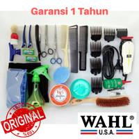 Paket Alat Cukur Rambut HEMAT dengan Mesin WAHL ORIGINAL Bergaransi