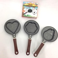 Teflon Non Stick Frying Pan Mini Karakter Uk 12cm anti lengket