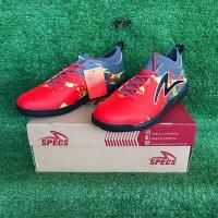 Sepatu Futsal Specs Cyanide TNT 19 FS - Emperor Red