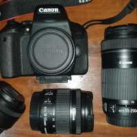 CANON EOS 800D KIT 18-55MM & 55-250MM