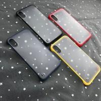 Iphone X transparant frameless case