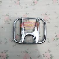 Emblem Logo Honda All New Brio 2018 2019 Chrome Pengganti Logo Melati