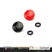 Soft Shutter Button Release Cekung Concave Mirrorless Tombol - Merah