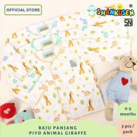 Baju bayi panjang shankusen piyo animal 3pcs