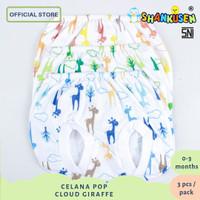 Celana Pop Shankusen CLOUD GIRAFFE 3pcs