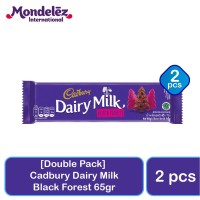 [Dapat 2pcs] Cadbury Dairy Milk Black Forest 62gr