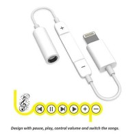 MH020 Lightning To aux 3.5 mm audio Headphone Jack Adapter for iphone