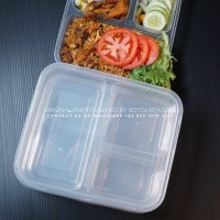 Thinwall Sekat 3 Tempat Makan Tahan Panas