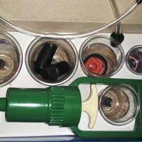alat Cupping kit kop / bekam angin terapi cup / Terapy 6 kup