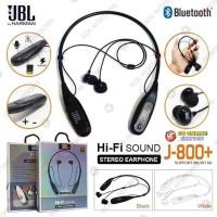 HANDSFREE EARPHONE HEADSET BLUETOOTH JBL J 800 + SLOT MEMORY