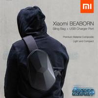 Tas Selempang Xiaomi BEABORN Tajezzo + USB Charger Port