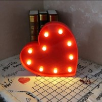 Lampu LED Hias Bentuk Love
