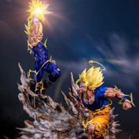 Infinity Studios Goku Vs Majin Vegeta not hot toys sideshow tsume art