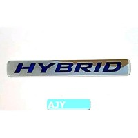 Emblem HYBRID Bisa untuk semua mobil dan motor Toyota Suzuki Honda Civ