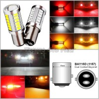 Lampu Led Stop Rem Mode Normal Bayonet 1157 5630 33smd Warna Putih - Putih