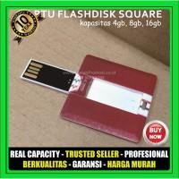USB Flashdisk Kartu Kotak FDCD13 Souvenir Promosi 4GB 8GB 16GB 32GB