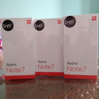 Redmi Note 7 3/32 Gb Garansi TAM
