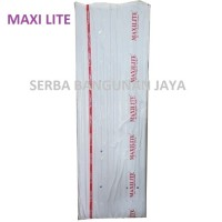 MAXILITE PVC ROOF ROMA / ASBES ATAP FIBER PVC 240 X 80 cm