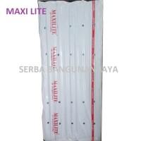 MAXILITE PVC ROOF ROMA / ASBES ATAP FIBER PVC 210 X 80 cm