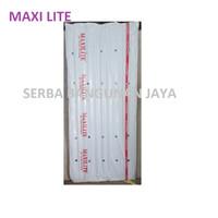 MAXILITE PVC ROOF ROMA / ASBES ATAP FIBER PVC 180 X 80 cm