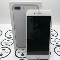 iphone 7 plus 128gb silver second mulus fullset