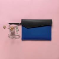 Tas/Case/Softcase/Leather Laptop Sleeve - Black/Blue (Fit Macbook 13)