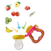 Asli Ori Safe Baby Fresh Food Fruit Juice Milk Silicone Feeder