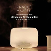 Air Humidifier Ultrasonic 500ml aroma therapy diffuser essential oil - 500ml