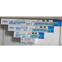 Lampu Aquarium HY-406 50-60cm Led Super Bright Ultrathin Light Lamp 9w