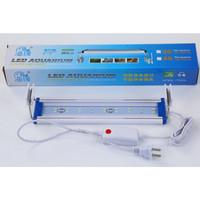 Lampu Aquarium HY-404 30-40cm Led Super Bright Ultrathin Light Lamp 5w