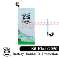 Baterai Samsung Galaxy S6 Rakkipanda Double Power Protection