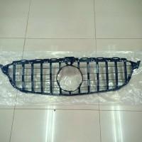 inner grill mercedes benz w205 c class AMG type GT GTR black camera