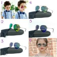 Kacamata fashion sunglasses anak Aviator
