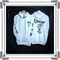 SL sweater hoodie STUSSY FLAG COUNTRY