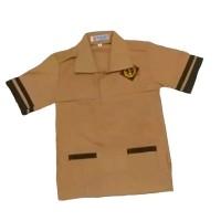 Baju seragam pramuka siaga lengan pendek sekolah anak SD kelas 1-6