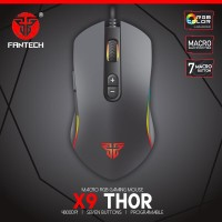 Mouse Gaming Standart Macro FANTECH X9 THOR RGB Chroma Light With 7 Bu