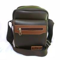 tas pria - tas slingbag - tas kulit sintetis - tas murah