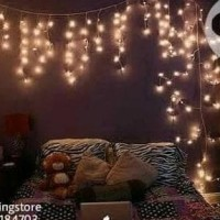 Lampu Tumblr LED Tirai 6M / Tumblr Lamp Curtain / Lampu Hias LED Natal
