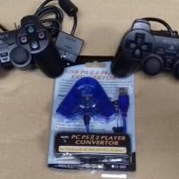 STIK / STICK / PS2 / PS 2 OP PAKET DENGAN CONVERTER STIK DOUBLE MURAH