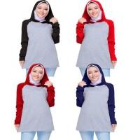 raglan hoodie wanita / raglan polos wanita / kaos wanita / fashion wan