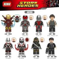 8PC lego kw Marvel The Avengers IRON MAN/ANT-MAN/HAWKEYE/WAR MACHINE