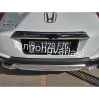 Cover Plat Nomor Acrylic/Akrilik Cembung Honda BRV (Variasi BRV,Plat N