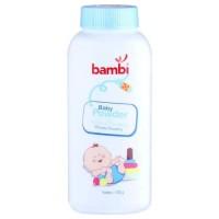 (Baby Club Itc Bsd) Bedak Powder Bambi 100gr Biru